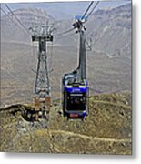 Mount Teide Cable Car Metal Print