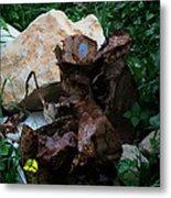 Mount Trashmore - Series Xvi Metal Print