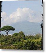 Mount Vesuvius Metal Print