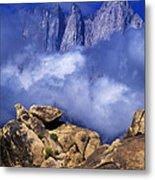 Mount Whitney Alabama Hills California Metal Print