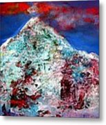 Mountain 120714-3 Metal Print