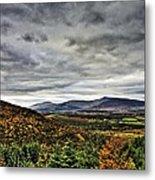 Mountain At The Windy Gap Metal Print by Tony Reddington