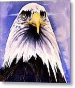 Mountain Bald Eagle Metal Print