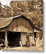 Mountain Barn 1 Metal Print