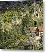 Mountain Cabin - Sierra Nevadas, California Usa Metal Print