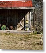 Mountain Cabin In Tennessee 3 Metal Print