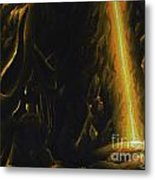 Mountain Cave Metal Print