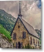 Mountain Chapel Metal Print