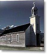 Mountain Church Metal Print