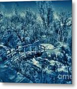 Mountain Creek Path-sundance Utah V2 Metal Print