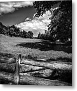 Mountain Field Metal Print