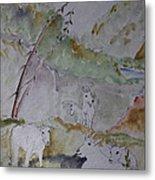Mountain Goats In Spearfish Canyon Metal Print