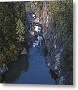 Mountain Gorge Metal Print