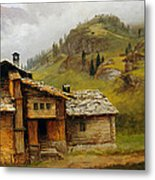 Mountain House  Metal Print by Albert Bierstadt