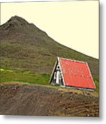 We Will Live Together In A Humble Mountain Hut  Metal Print