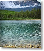 Mountain Lake Metal Print by Elena Elisseeva