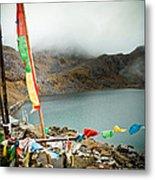 Mountain Lake Gosaikunda Himalayas Metal Print