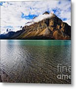 Mountain Lake Scenic Metal Print by George Oze