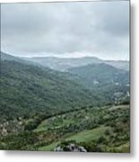 Mountain Landscape Of Italy Metal Print