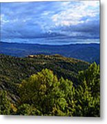 Mountain  Landscape Metal Print by Stefano Piccini