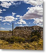 Mountain Lions Metal Print