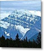 Mountain Meets The Sky Metal Print