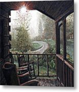 Mountain Memories Metal Print