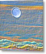 Mountain Moonrise 2 Metal Print