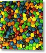 Mountain Of M And M's Metal Print by Anna Villarreal Garbis