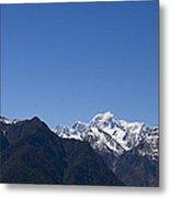 Mountain Profile Metal Print