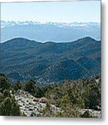 Mountain Range, White Mountains Metal Print