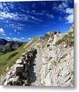Mountain Ridge Metal Print