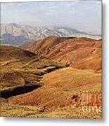 Mountain Scenary Near Zanjan In Iran Metal Print