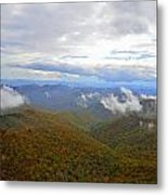Mountain Seasons Metal Print by Susan Leggett