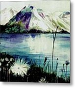 Mountain Serenity Metal Print