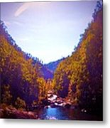 Mountain Solitude Metal Print