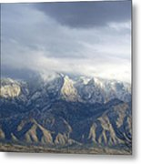 Mountain Storm Metal Print