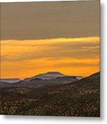 Mountain Sunrise 6-19-14 Metal Print