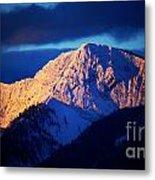 Lizard Range Mountain Sunrise Metal Print