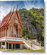 Mountain Temple Metal Print
