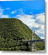 Mountain Tops Metal Print