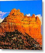 Mountain View Sedona Arizona Metal Print
