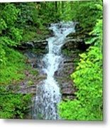 Mountain Waterfall I Metal Print