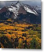 Mountainous Storm Metal Print