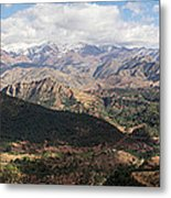 Mountains Along N9, Al Haouz Metal Print