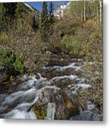 Mountains Co Maroon Creek 1 Metal Print