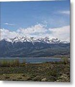 Mountains Co Mt Elbert 1 Metal Print