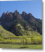 Mountains Co Sievers 2 A Metal Print