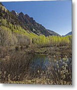 Mountains Co Sievers 3 Metal Print
