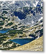 Mountains Lakes Metal Print